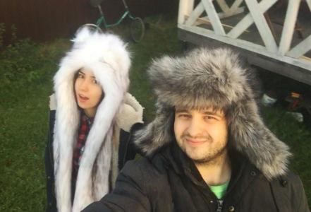 Белая Пума и Ушанка Волк